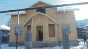 Строительство деревянно-каркасных   домов с использованием панелей сип